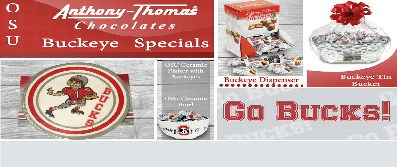 Anthony-Thomas Chocolates | Delicious Candy Buckeyes