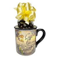 Caffe Europa Mug w/ espresso beans - 3623