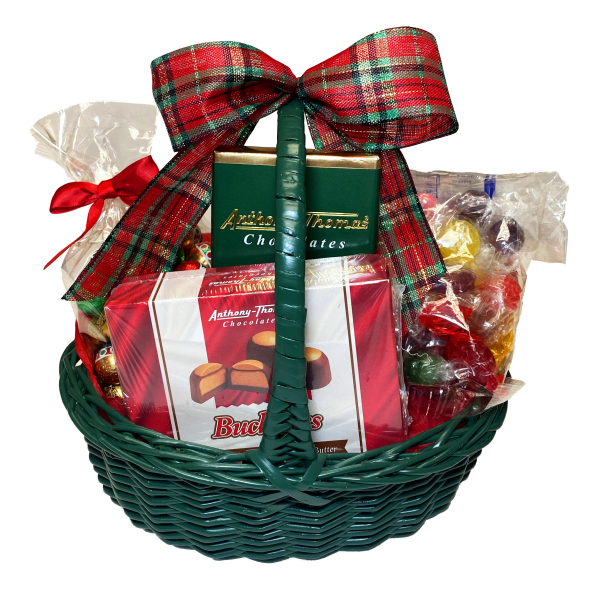 Holiday Sweets Gift Basket - 3846