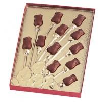 Chocolate Dozen Roses Gift Box - 5914