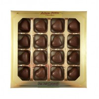 Milk Chocolate Sea Salt Caramel Hearts - 3418