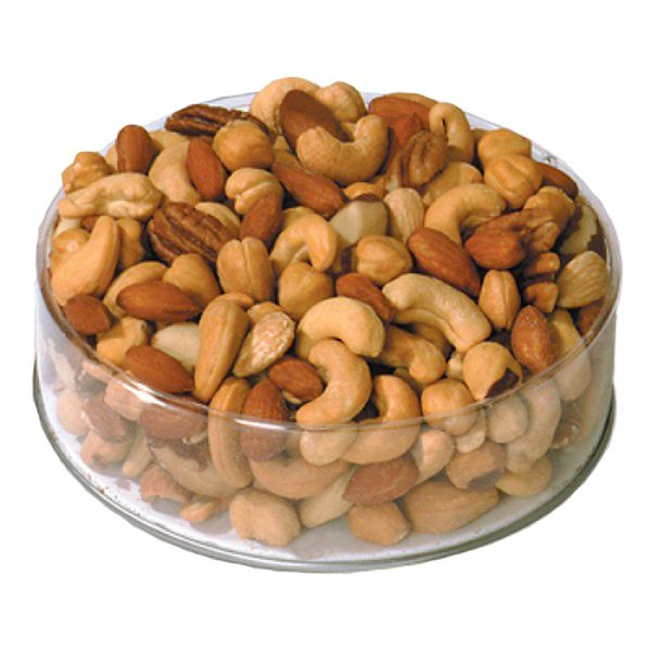 Deluxe Mixed Nuts Small Round