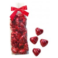 Mini Foiled Heart Gift Bag 6 oz. - 3070