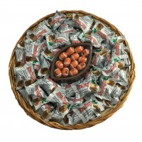 Large Buckeye Wicker Party Tray - 3503