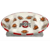 OSU Large Platter w/ 24 pc. OSU  Buckeyes - 3539