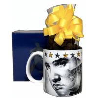 Elvis Presley Mug w/ Chocolate Covered Peanuts - 3519