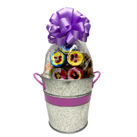 Spring Silver Filled Pail - 3559