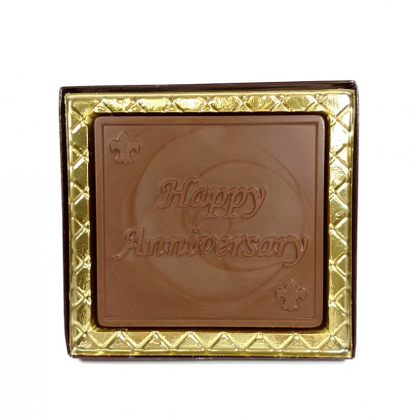 Chocolate Happy Anniversary Card - 5104