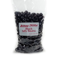 16 oz Black Jelly Beans - 5335