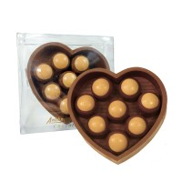 Heart Mold with Buckeyes 10 oz. - 3645
