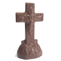 3 oz Chocolate Cross - 5218