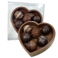 Heart Mold with Truffles - 3646