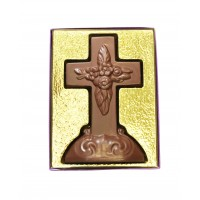 7 oz Large Milk Chocolate Cross - 3708