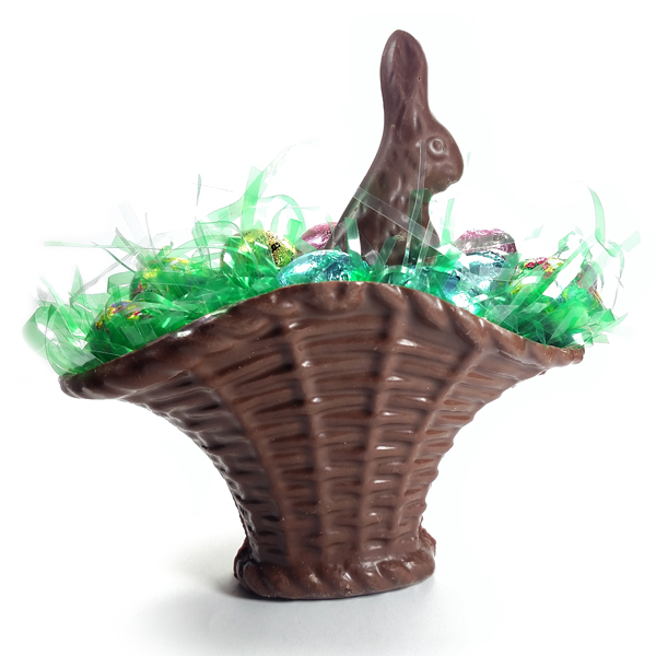 Chocolate Fan Basket