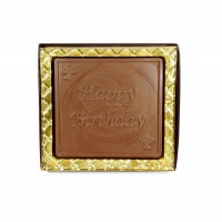 Chocolate Happy Birthday Card - 5102