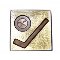 4.5 oz Hockey Stick & Puck - 3437