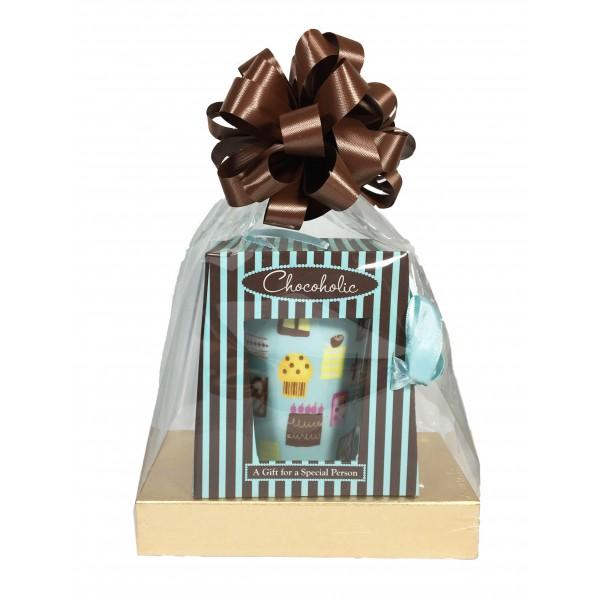 Chocoholic Mug with 4 oz Deluxe Assorted Chocolates - 3504