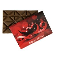 Valentine's Day Solid Milk Chocolate Bar 16 oz - 5244V