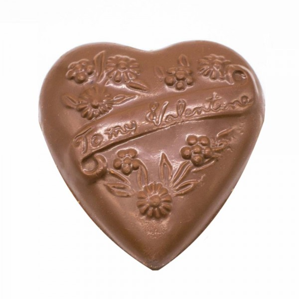 Solid Chocolate Heart 5 oz.