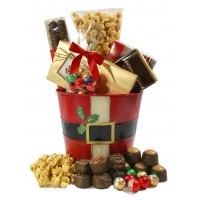 Santa Tin Bucket - 3988