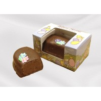 6 oz Plain Chocolate Fudge Egg - 5936