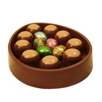Easter Egg Dish with Buckeyes - 3685