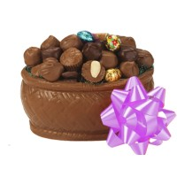 2 lb. Chocolate Oval Basket - 5307